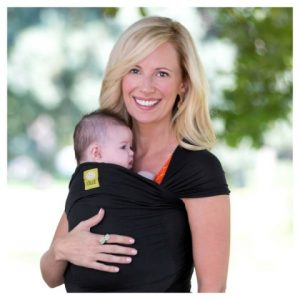 Lillebaby Tie-the-Knot Black Wrap